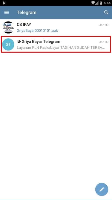 Tiket Deposit Telegram